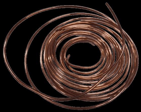Трубка капиллярная медная внут. диаметр 1,83 (0,65х3,13)