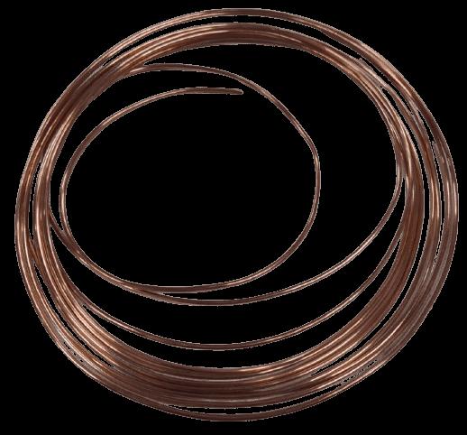 Трубка капиллярная медная внут. диаметр 2,03 (0,825х3,68)