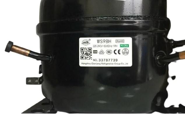 Компрессор WS 98 H (R-134, 255Вт) Wansheng